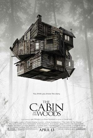 cabininthewoodsposter