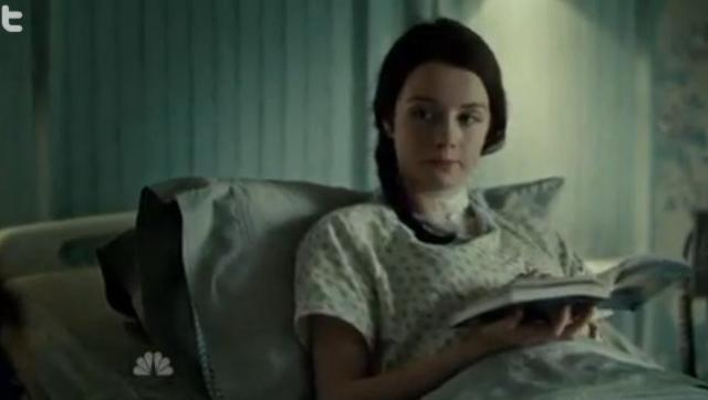Abigail (Kacey Rohl) wakes up and is incredibly manipulative.