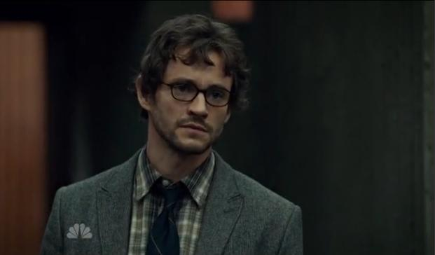 It's amazing how healthy and normal Will (Hugh Dancy) looks at the beginning of the season.