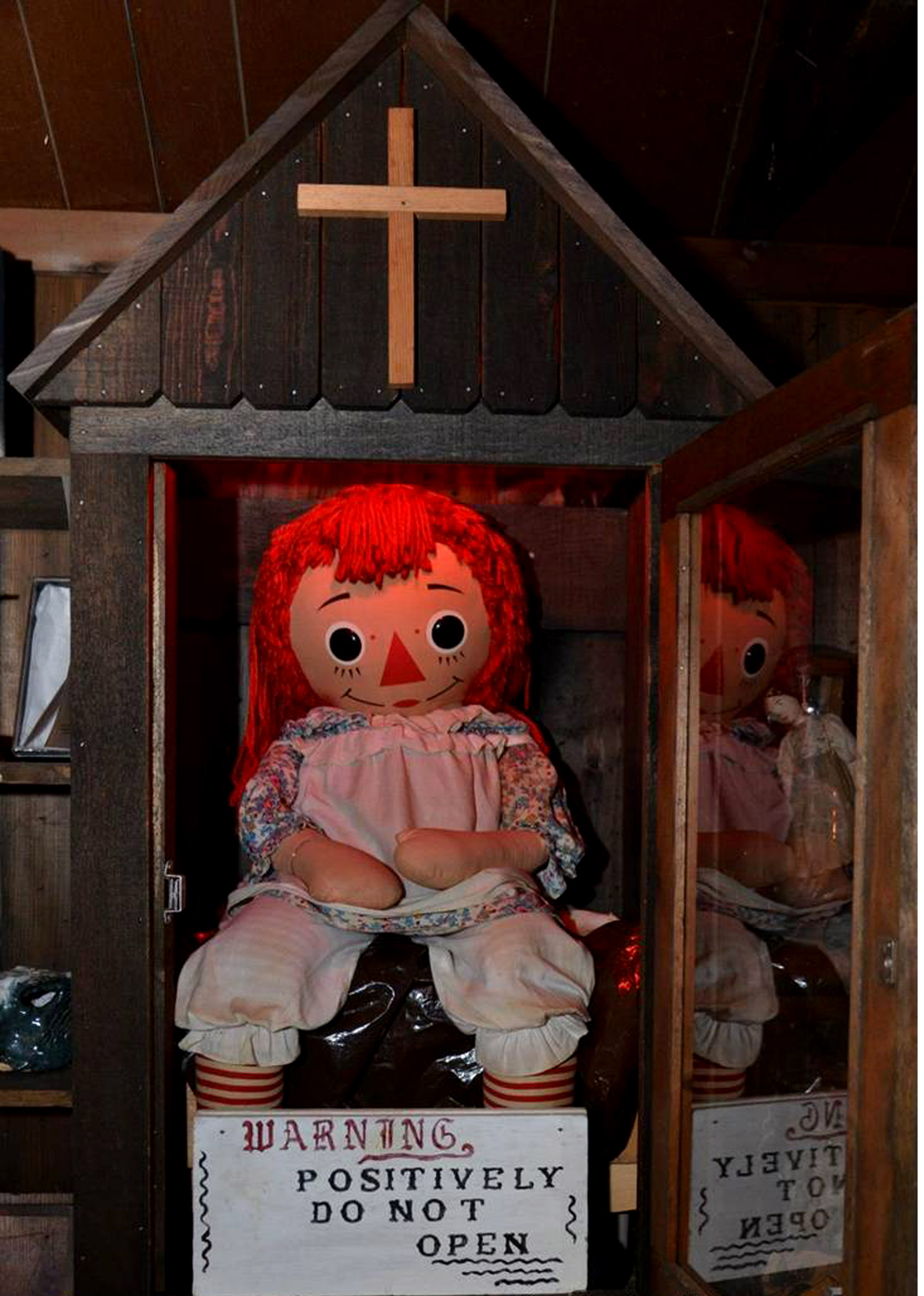 Doll Annabelle Scary Moment
